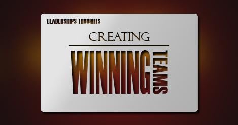 Creating Winning Team