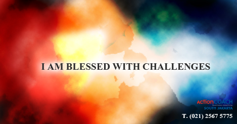 I AM BLESSED WITH CHALLENGES