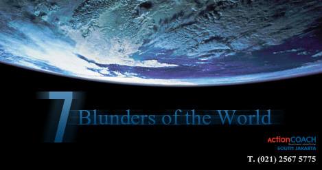 Seven Blunders of the World