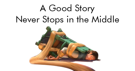 A good story never stops in the middle