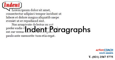 Indent Paragraphs